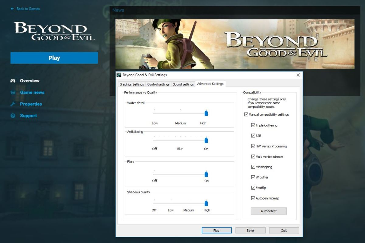 How to Fixed Extreme Lag in Beyond Good and Evil